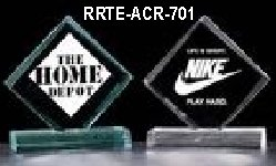 acrylic award - rrte-acr-701 small view