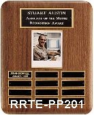 solid walnut perpetual plaque - rrte-pp201 small view
