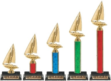 Raingutter Regatta trophies