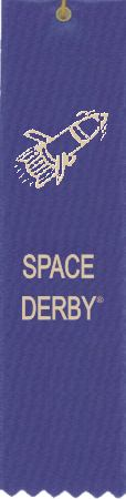Space Derby ribbon