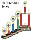 Space Derby trophies